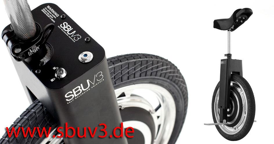 sbu v3 sbuv3 solowheel scooter roller elektrisches einrad. Black Bedroom Furniture Sets. Home Design Ideas