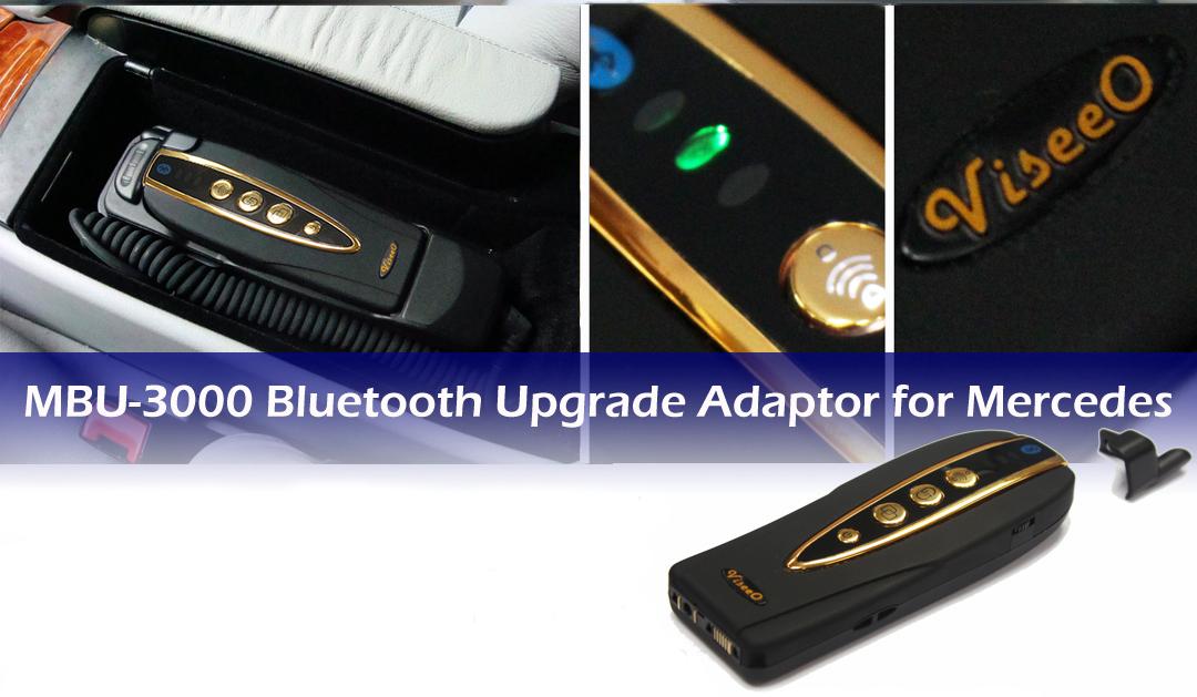 viseeo mbu 3000 bluetooth adapter mercedes car kit neu. Black Bedroom Furniture Sets. Home Design Ideas
